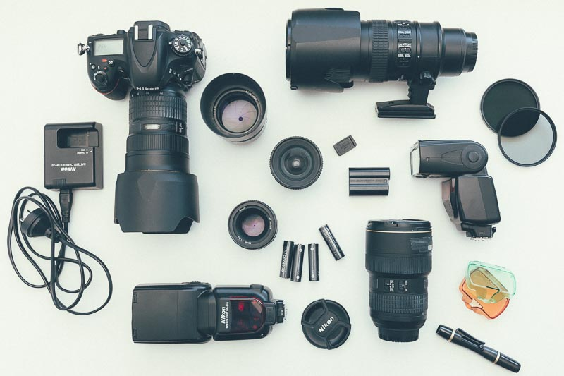 Matt's Nikon Kit | Canon vs Nikon