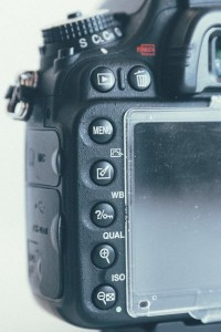 Nikon image review buttons | Nikon vs Canon