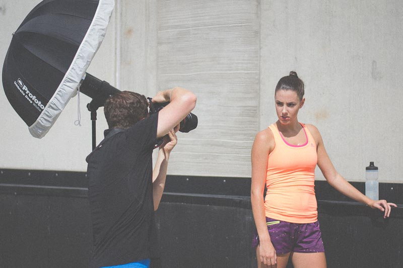 Fitness Test Shoot | Behind the Scenes
