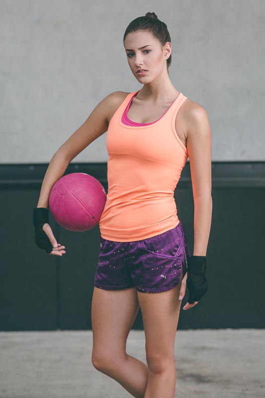 Womens Fitness Medicine Ball | Fitness Test shoot