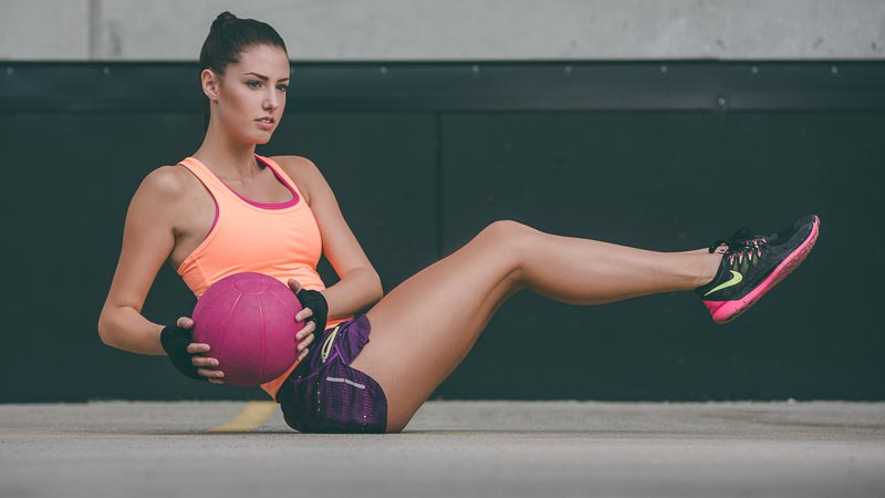 Medicine ball twists | Womens Fitness