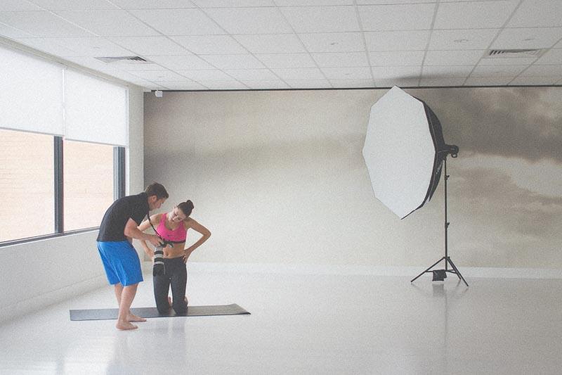 Behind the Scenes | Matt Korinek Photographer | Image Courtesy of Fatima