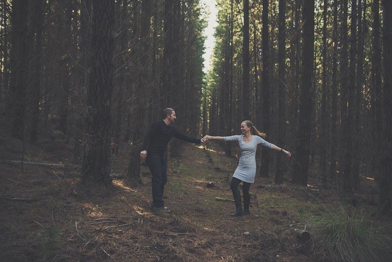 Try anything when taking your own engagement photos   Matt Korinek - Photographer