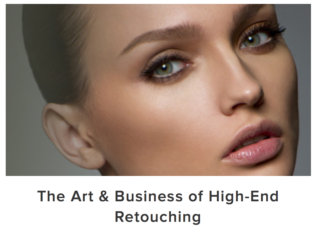Learn Photography Online | High End Retouching Tutorial