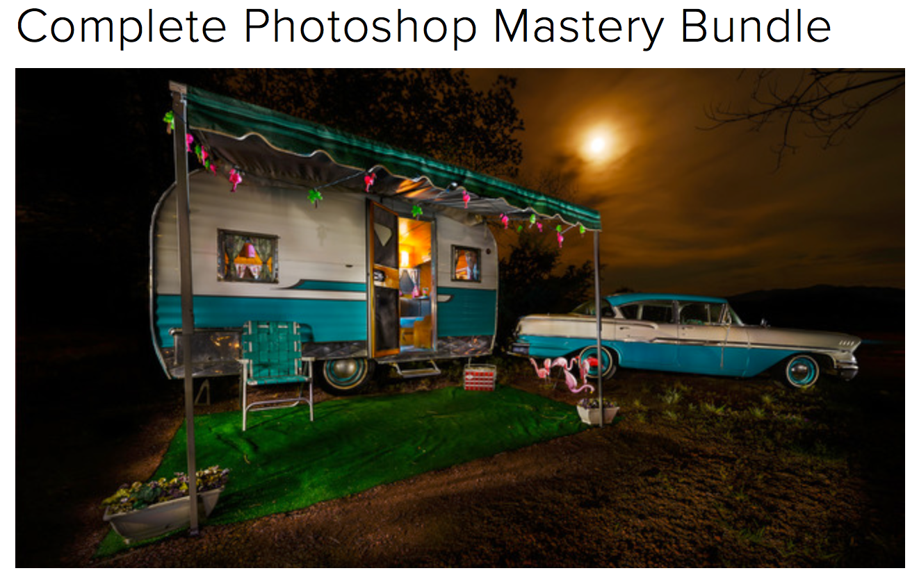 Learn Photography Online | Photoshop Master Bundle
