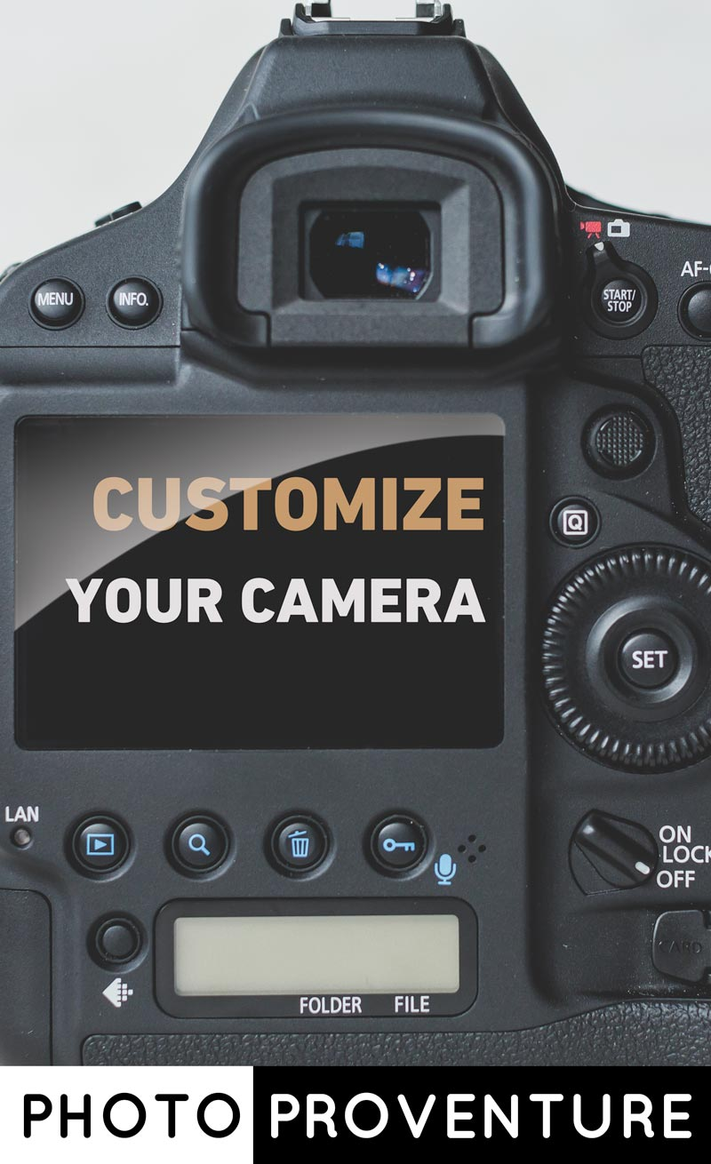 If you want to get the most out of your camera, you should be customising it to suit your approach. Find out how important it is to customise your camera (plus a few tips) here >